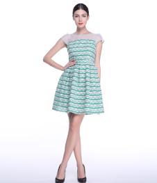 米岫连衣裙