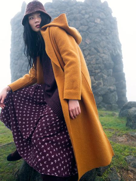 因为ZOLLE女装春季长款外套