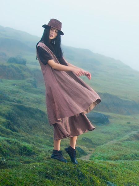 ZOLLE女装夏季新款棉麻连衣裙