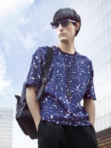VASTO FVSION蓝色T恤