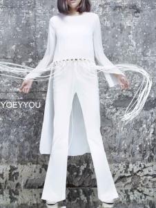 YOEYYOU 游悦白色外套