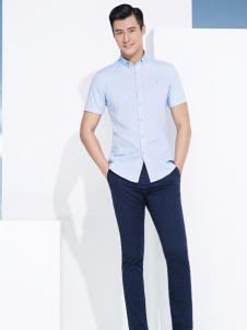 杉杉男装短袖t恤