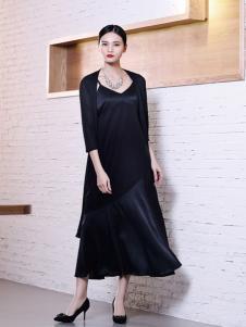 ZH黑色长裙