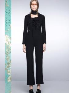 I LOVE PRETTY黑色裤装