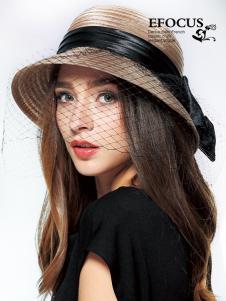 EFOCUS伊点2016夏季网纱礼帽