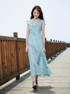 尚州印花长裙