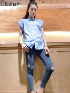 2016天悦夏季新款牛仔裤
