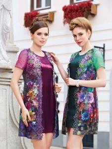 法国碧阳2016新款装连衣裙套装