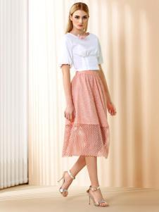 奥伦提女装夏季新款裙子