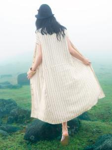因为ZOLLE女装夏季新款棉麻开衫