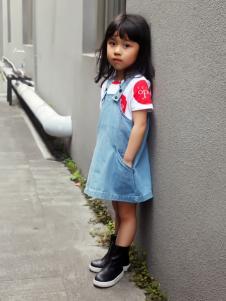 edo女童背带裤