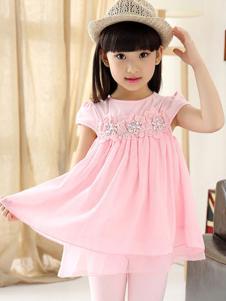 魔法童话粉色短袖
