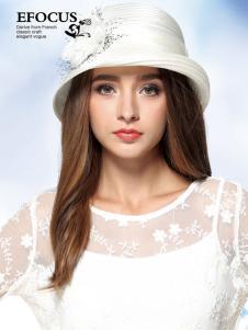 EFOCUS伊点2016年白色礼帽