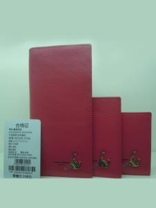 真澳袋鼠2016年红色女士钱包