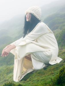 因为ZOLLE女装春季棉麻连衣裙