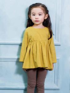 黄色娃娃裙