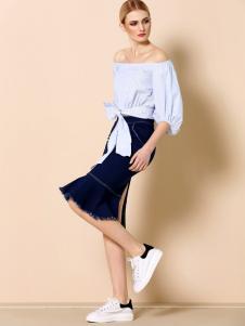 奥伦提女装夏季新款上衣