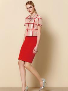 奥伦提女装夏季包臀裙