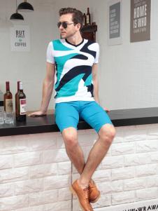 XEZO男装夏季新款POLO衫