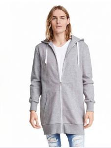 莱语男装灰色外套