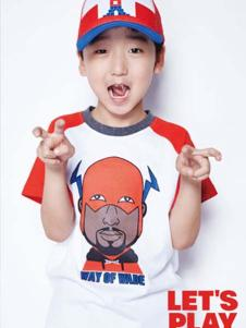 小李宁男童T恤