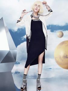 秀亦2016新品白色运动外套