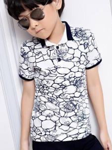 2016越也童装新款时尚T恤
