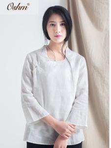 欧尚恒美白色复古外套