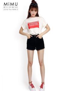 2016米缪黑色短裤