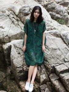 一席之地2016新品棉麻长裙