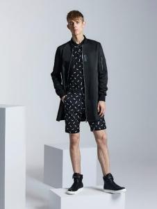 威曼男装2016新品长款外套