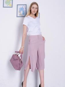 2016然可时女装新款阔腿裤