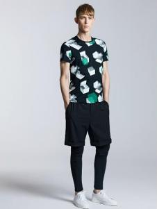 威曼男装2016新品印花T恤