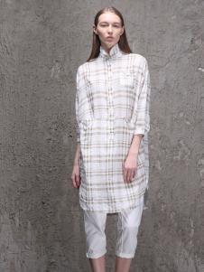 范可儿2016新品棉麻衬衫