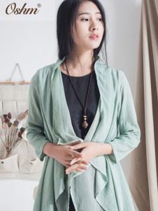 欧尚恒美绿色外套