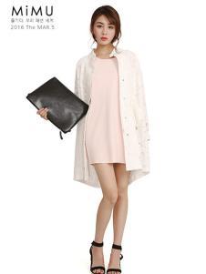 2016米缪白色外套