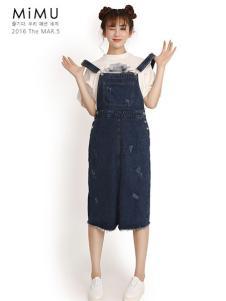 2016米缪背带裤