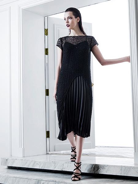 D2M女装2016新品吊带裙
