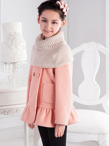 巴柯拉2016秋冬新品女童外套