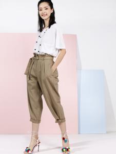 彩衫C2P女装2016新品休闲裤