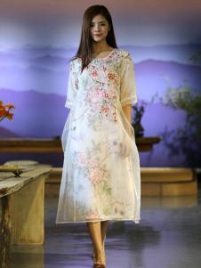 衣植自然2016新品中国风裙装