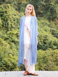 2016蒙杰诗丹女装夏季新款蓝色外套
