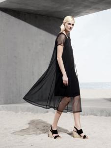 LAPORA 2016新品黑色女裙