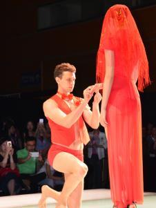 芭蒂欧内衣红色系列新品