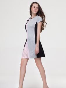 艾露伊女装修身连衣裙