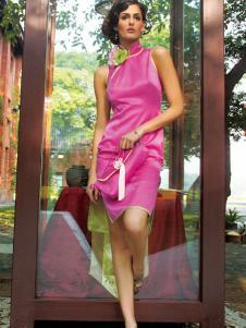 香莎女装新品旗袍