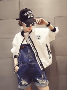 2016WW.JS.DEER女装新款白色外套