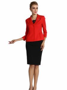 2016蒙迪愛爾新品紅色外套