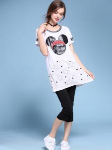 2016维曼缇女装长款T恤