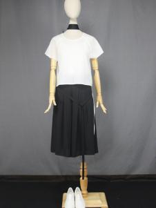 道内2016新品黑色半裙